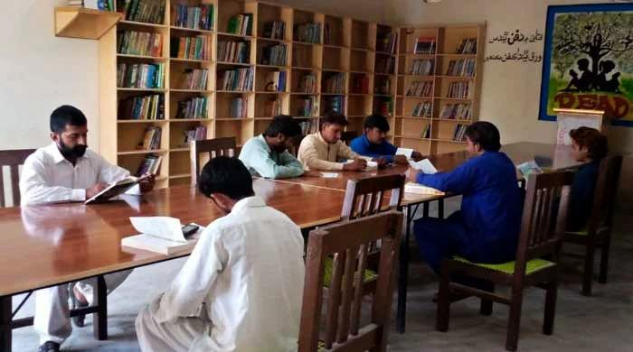 'Where there's a will, there's a way': Small town students take charge to revive reading culture in Pakistan