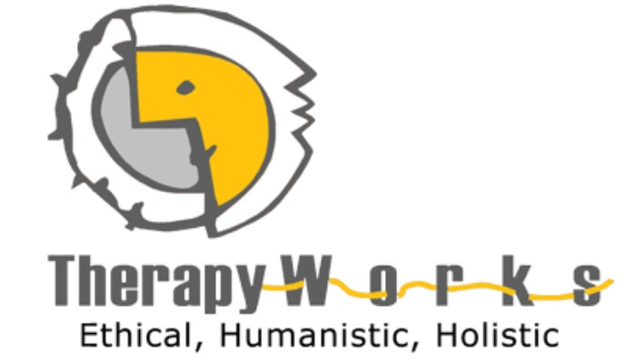 Logo of Therapy Works copied from the organisations official website, therapyworks.com.pk