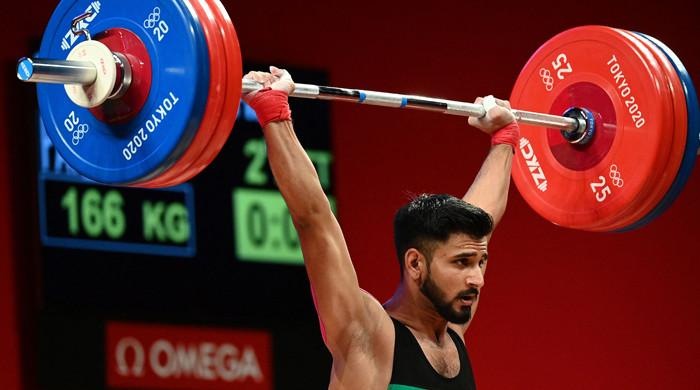 Pakistan misses out on maiden Olympic weightlifting medal after Talha Talib falls short