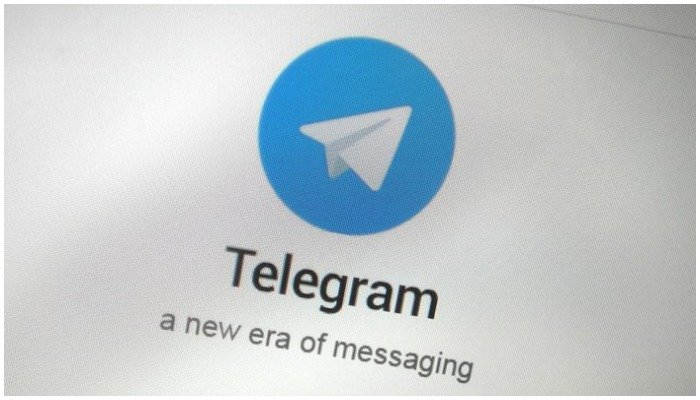 Photo showing the logo of messaging app Telegram — File