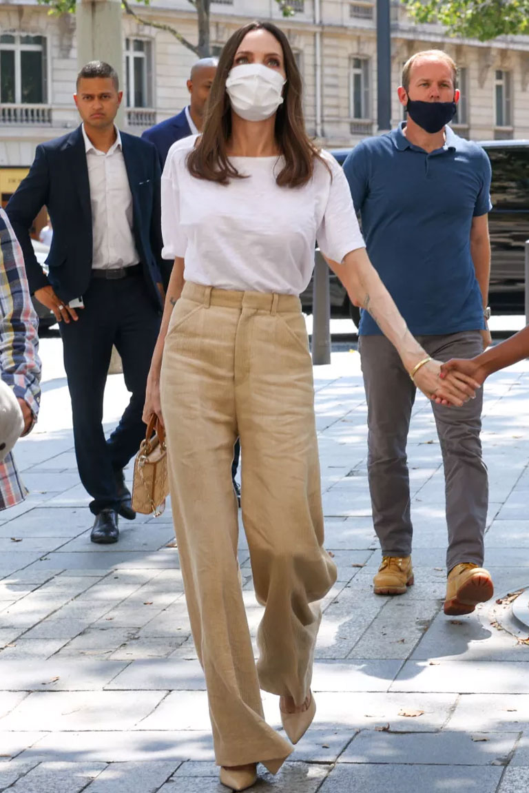 Angelina Jolie amazes fans with her elegance as she steps out in Paris