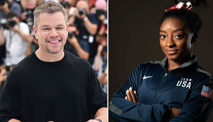 Matt Damon about the news of 24-year-old Simone Biles pulling out of Olympics