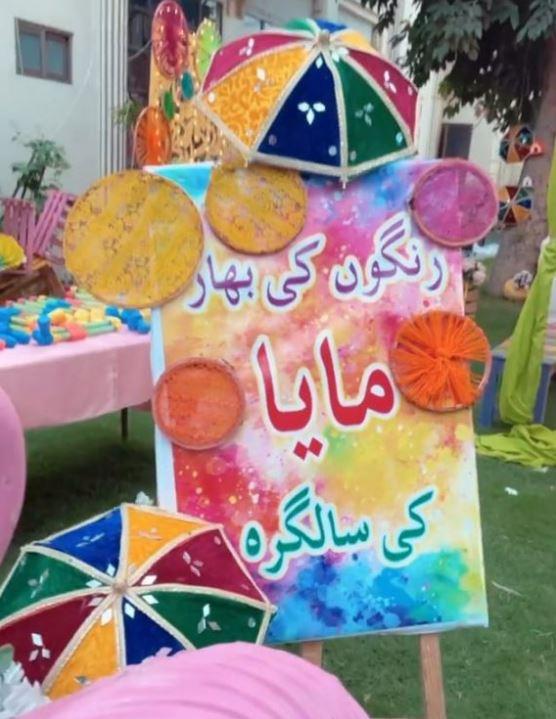 Inside Maya Alis holi-themed birthday party