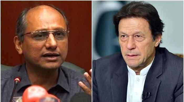 Saeed Ghani pokes fun at PM Imran Khan with 'ziada barish, ziada pani' line