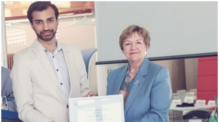 Pakistani elected Glasgow Caledonian University's president