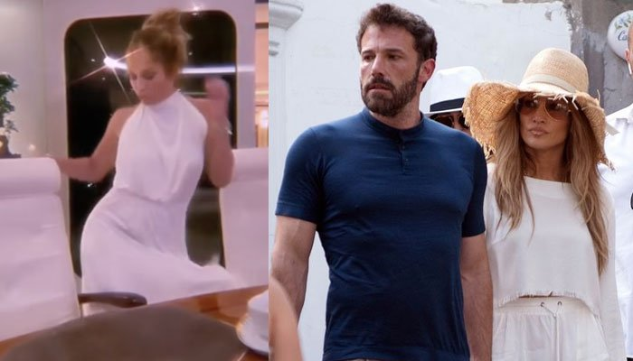Jennifer Lopez stuns Ben Affleck with her dance moves to Michael Jacksons Rock With You