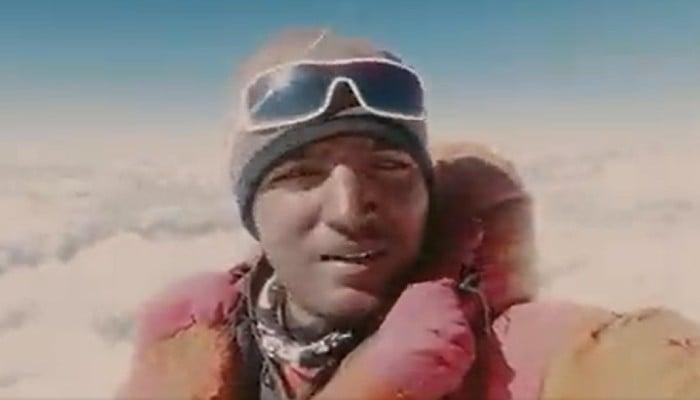 Sajid Ali Sadpara, the son of legendary mountain climber Mohammad Ali Sadpara
