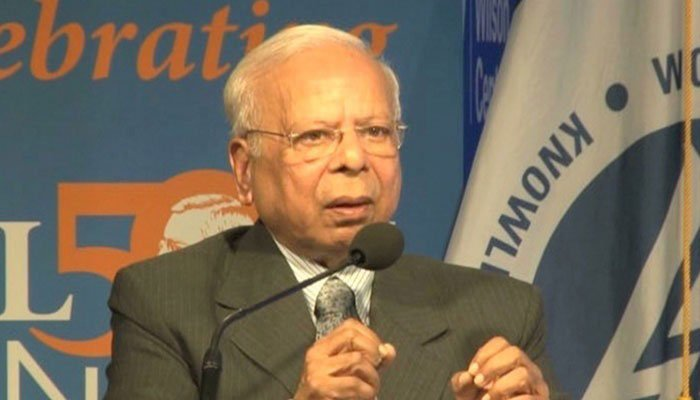 Prime Minister's Adviser on Institutional Reforms and Austerity Dr Ishrat Hussain. File photo