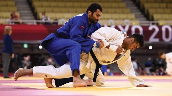 Pakistan's Shah Hussain eliminated from Tokyo Olympics