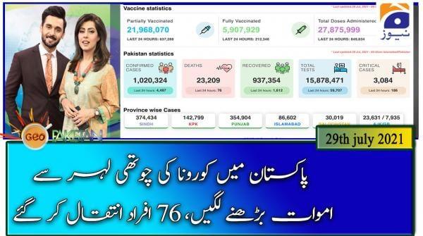 Geo Pakistan | 29th July 2021