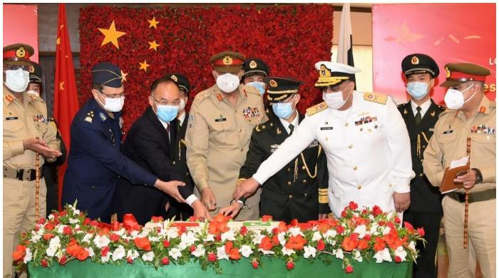 Pakistan Army commemorates 94th anniversary of Chinese military at GHQ