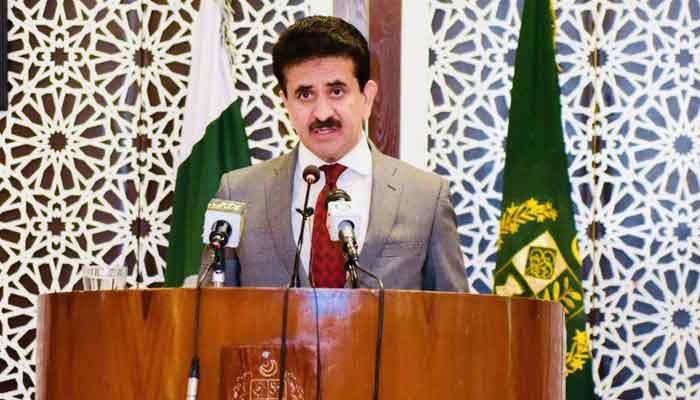 Foreign Office Spokesperson Zahid Hafeez Chaudhri. File