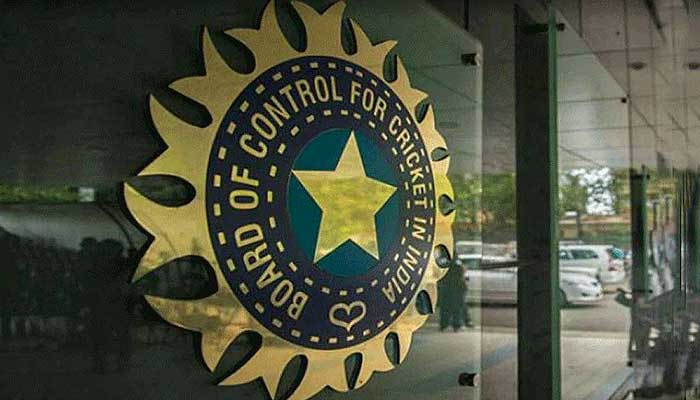 The logo ofthe Board of Control for Cricket in India (BCCI).