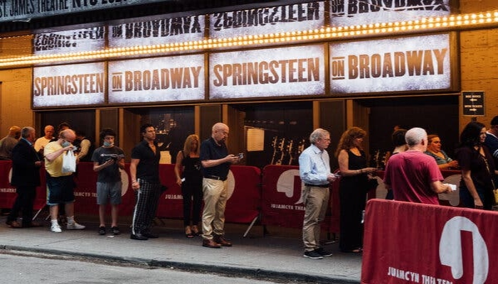 All of New York's 41 Broadway theaters are mandating documentation of full vaccination