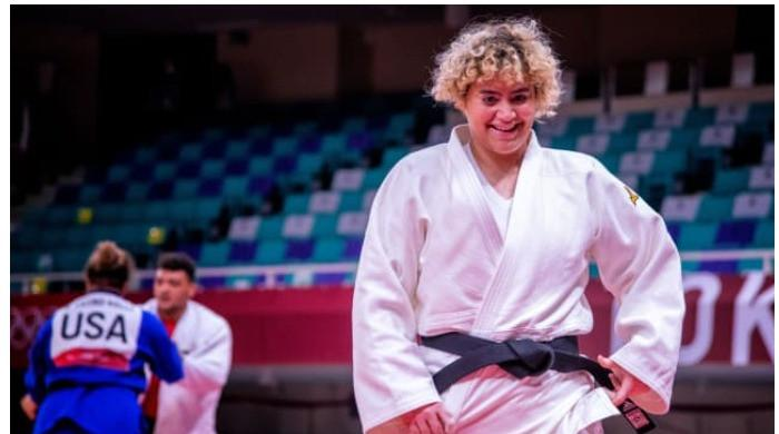 Saudi Arabian judoka faces Israeli opponent at Tokyo Olympics