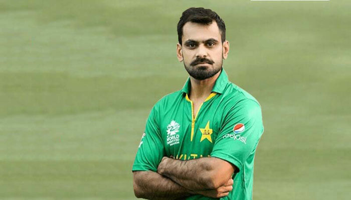 Hafeez overjoyed after winning first Man of the Match award for bowling