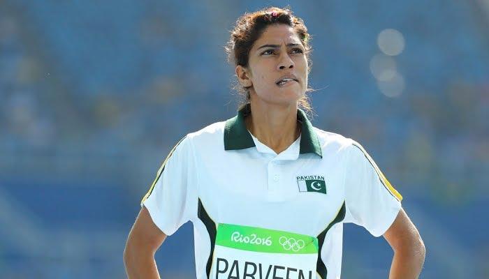Pakistan's top female sprinter Najma Parveen. — File photo