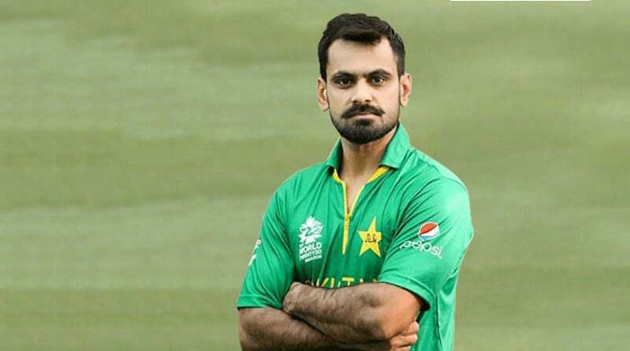 Hafeez overjoyed after winning first 'Man of the Match' award for bowling