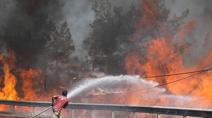 Firefighters in Turkey continue battle to control wildfires