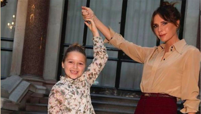 Victoria Beckham and daughter Harper enjoy girls night in Miami
