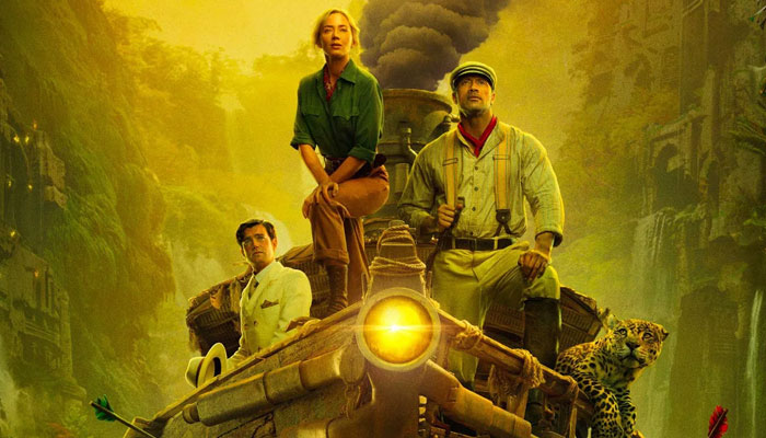 Jungle Cruise stars Emily Blunt and Dwayne Johnson along with British actor Jack Whitehall