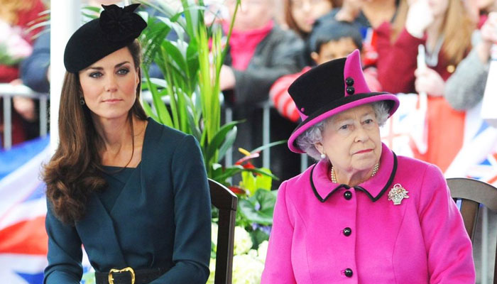 Queen wants Kate Middleton to fill void left by Prince Harry and Meghan Markle