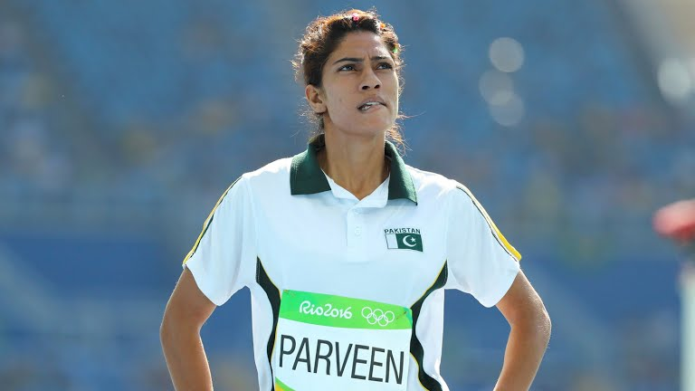 Pakistani sprinter Najma Parveen. Photo: File