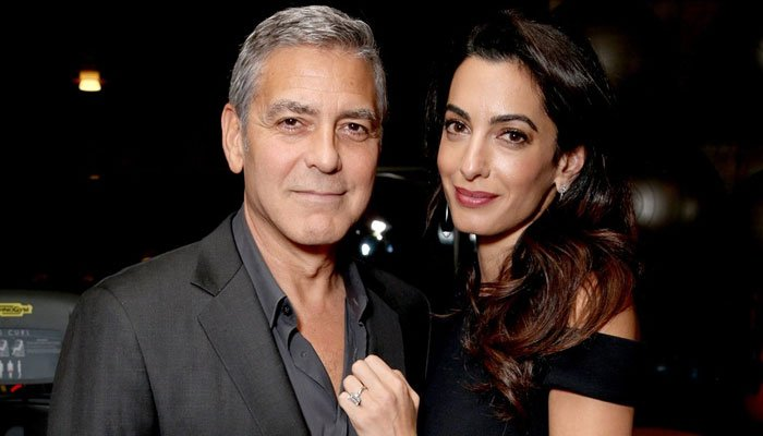 George Clooney and wife Amal, already parents to twins, refuted claims of their second pregnancy