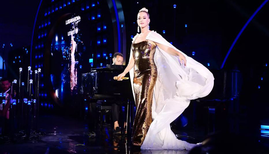 Katy Perry, John Legend dazzle at UNICEF gala with music