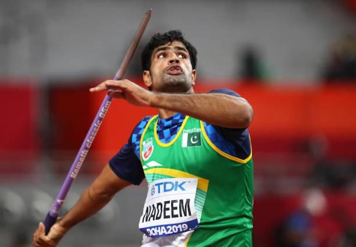 Arshad is considered to be one of the finest javelin throwers in South Asia. Photo: Geo.tv/ file