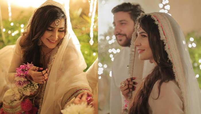 Areeba Habib confirms her 'baat pakki', shares stunning photos