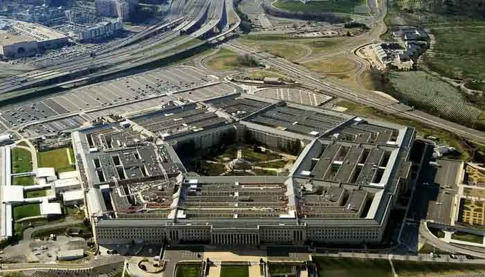 An aerial view of the Pentagon building.— AFP/File