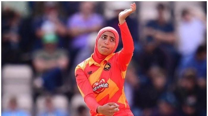 Britain's first hijab-wearing cricketer wants to be an inspiration for Muslim girls