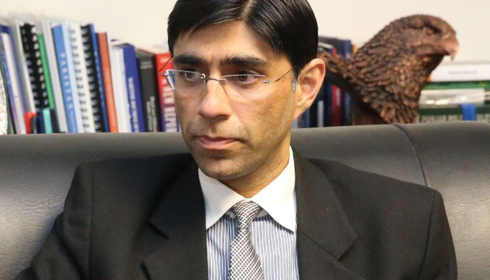 National Security Adviser (NSA) Moeed Yusuf. File photo