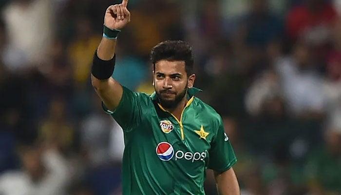 Pakistani all-rounder Imad Wasim. File photo