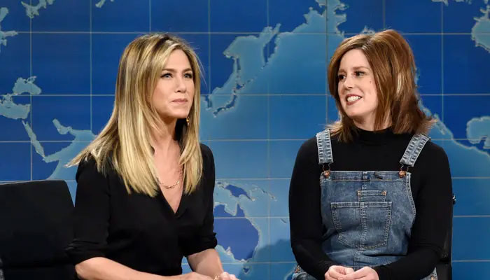 Jennifer Aniston thought she was being 'mocked' on SNL by Vanessa Bayer