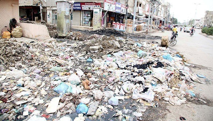 Garbage dumps are one of the main sources of flies infestation. File photo