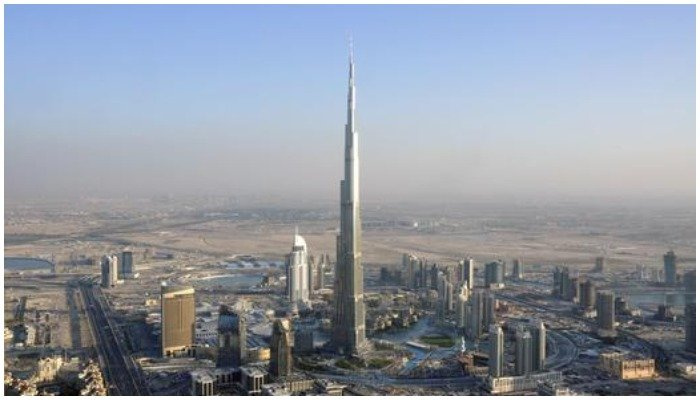 Picture of the famous Burj Khalifa, the tallest building in the world. Photo: Reuters