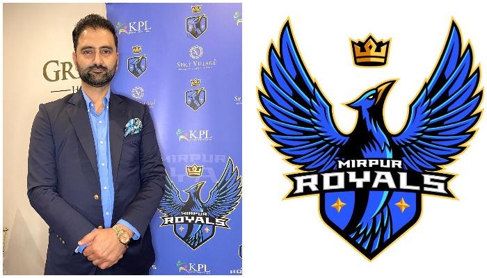 Businessman Raja Suleman Raza has bought the Mirpur Royals franchise to play in Kashmir Premier League (KPL). Courtesy photo.
