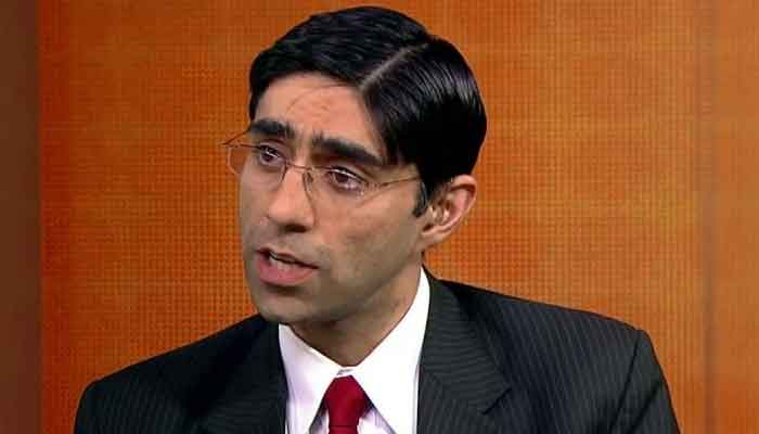 National Security Adviser Moeed Yusuf. File photo