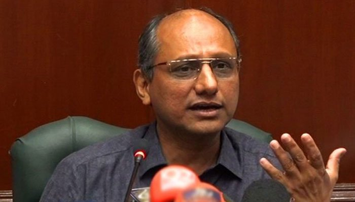 Sindh Minister for Information Saeed Ghani.