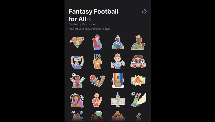The new sticker pack. — Twitter/WABetainfo