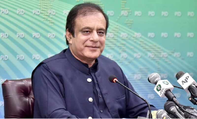 Federal Minister for Science & Technology Shibli Faraz. — PID/File