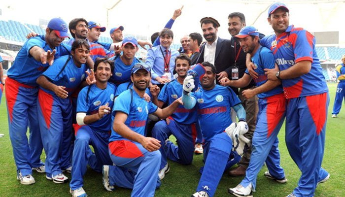 Afghan cricket team. Getty images