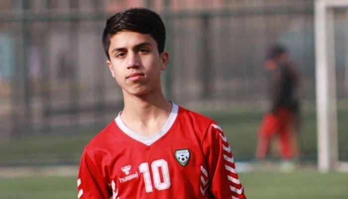 Zaki Anwari died at the Kabul airport while trying to flee Kabul, his soccer federation said. — Afghan Soccer Federation