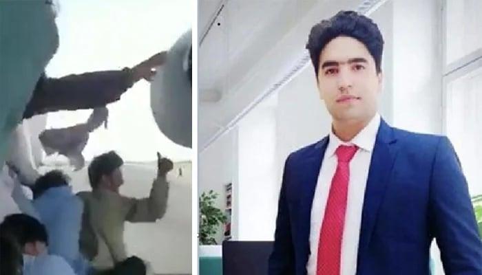 22-year-old dentist of Kabul, Fida Muhammad. — Geo Urdu