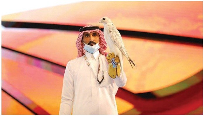 Falconry is an ancient hobby that has taken off into a multi-million dollar business in the Gulf region.Photo SPA