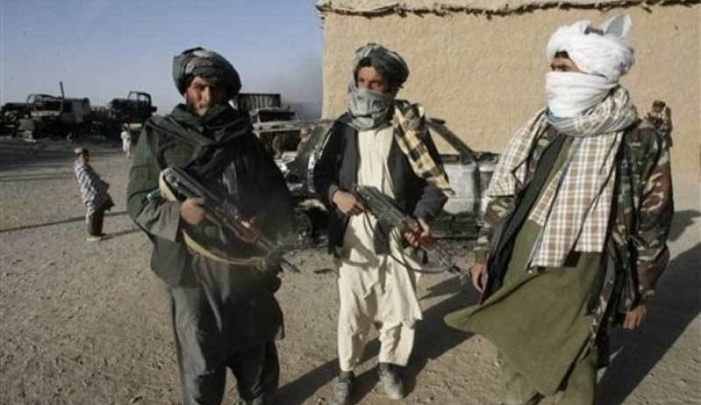 An image of Afghan Taliban fighters. AFP