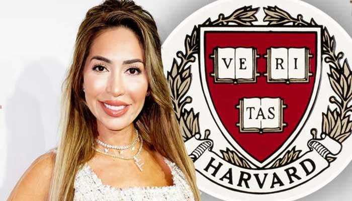 Farrah Abraham sets Harvard sweatshirt on fire after accusing Ivy League university of 'education abuse'