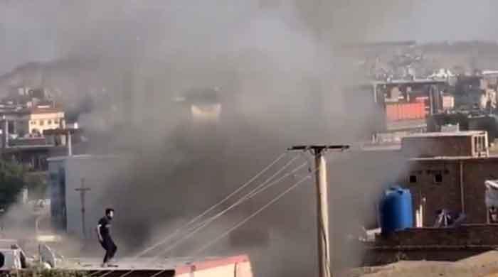 US drone strike hits car bomb near Kabul airport: officials